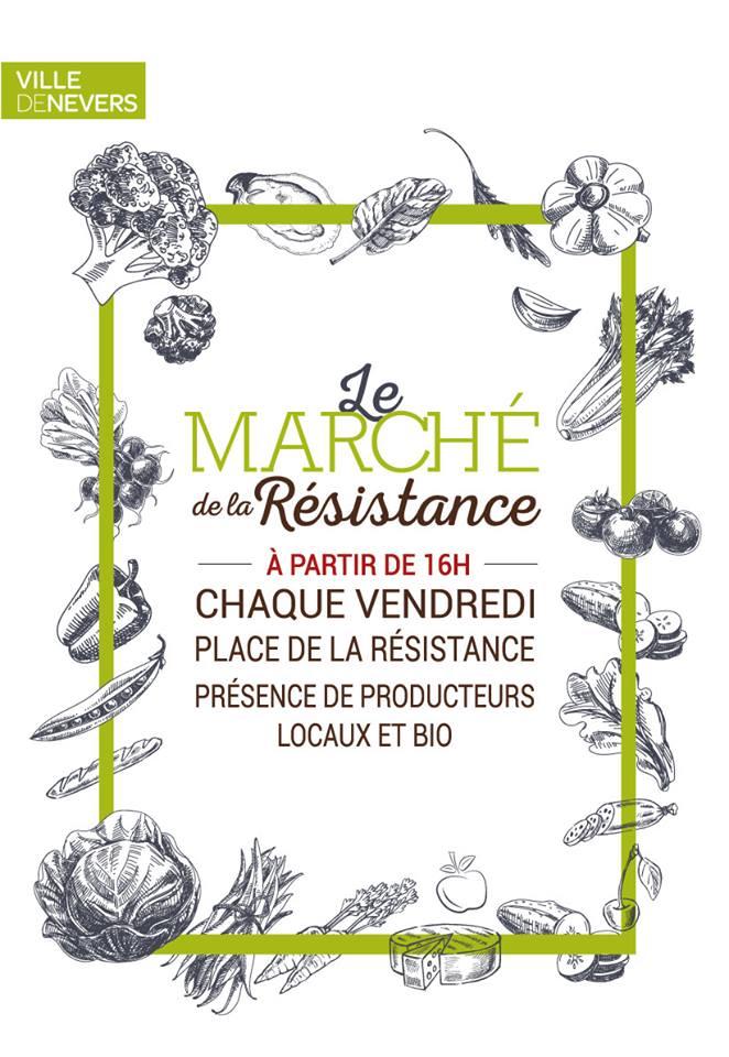 marché de la résistance